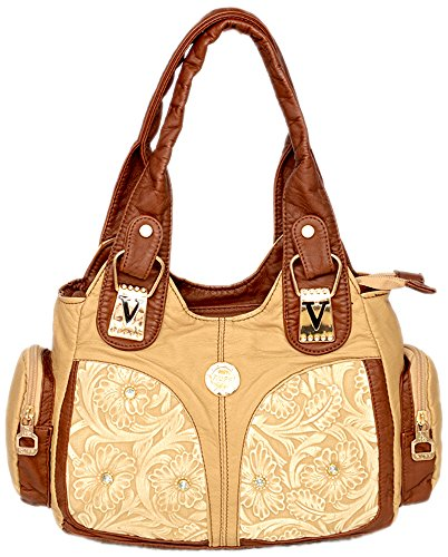 Gouri Bags Beige Brown Colour Casual Party Stylish Trendy Bag For Girls  Women Handbags Designer Soft Leather Shoulder Bag Office Purses Soft  Leather Bag ...
