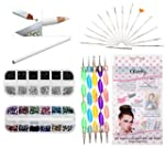 Set Kit Outils & D�corations Nail Art...