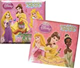 Disney Princess Bath Books (Rapunzel, Tiana, Belle, Cinderella)