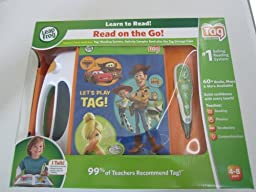 Special LeapFrog TAG Reading System with BONUS Tag Storage Case and Activity Sampler Book