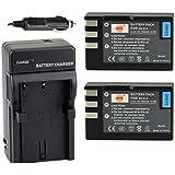 DSTE® 2x EN-EL9 Battery + DC15 Travel and Car Charger Adapter for Nikon D40 D40X D60 D3000 D5000 Digital Camera as EN-EL9A