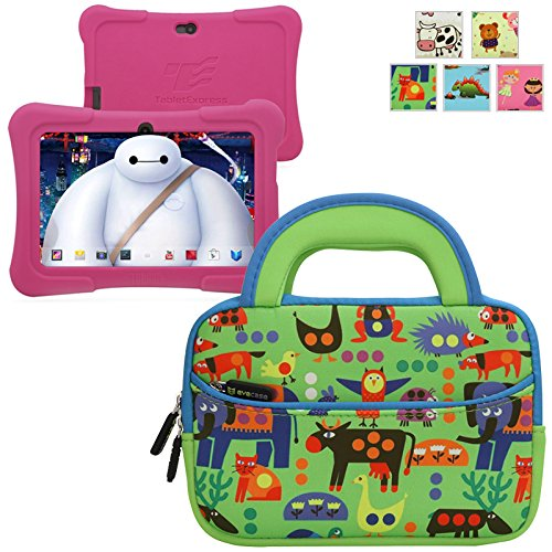 Buy Bargain Evecase TABLET EXPRESS Y88X Kids Dragon Touch 7IN Android Tablet Sleeve, Cute Animal The...