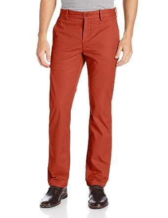 Levi's Men's 513 Slim Straight Trouser Pant, Burnt Henna, 28x30