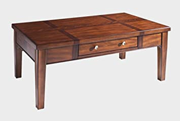 Somerton Home 140-04 Runway Cocktail Coffee Table, Medium