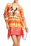 51Xp8D4JkjL. SL160  2b Tanya Tropic Kaftan Dress