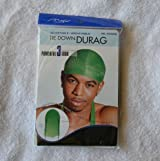 Green DuRag Hat - Tie down Du-Rag Hair Cap