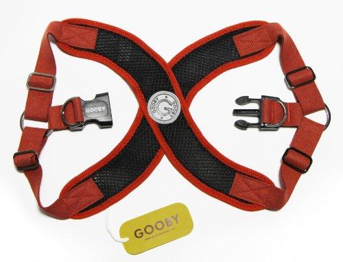Gooby Perfect Fit Dog Harness Large Black Komaromyzdadz