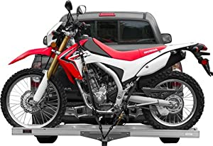 AMC-400 Lightweight Aluminum Motocross & Dirt Bike Carrier for 2 Hitch Receivers by Rage Powersports
