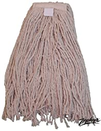 Zephyr 9003 BBL Cotton Wet Mop Head, #20 Size (Pack of 12)