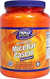 NOW Foods Micellar Casein Natural Unflavored -- 1.8 lbs