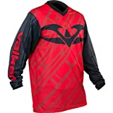 Valken Fate II Paintball Jersey - Red / Black