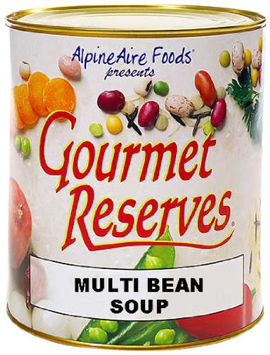 Alpine aire gourmet reserves multi bean soup 10 can food for 10 calorie soup gourmet cuisine