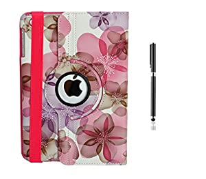 "iPad Mini Case for Apple iPad Mini 3 Mini 2 Mini 1 ( 1st, 2nd, 3rd Generation ) 7.9"" Retina display iPad Mini3 (2014 Oct Released), inShang 360 Degree Case Cover Stand with auto Sleep Wake function + inShang Logo High End Business Stylus Pen"