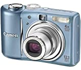 Canon PowerShot A1100 IS Digital Camera - Blue (12.1 MP, 4x Optical Zoom) 2.5 inch LCD