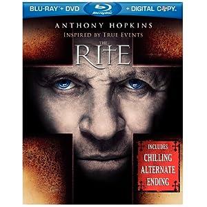 The Rite Blu-ray