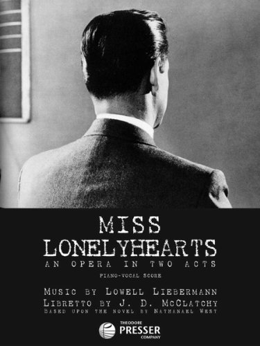 miss lonelyhearts Miss lonelyhearts 59 scious desires of the solitary man and the disruptive needs of the visible world1 in miss lonelyhearts, perhaps his finest book and certainly an.
