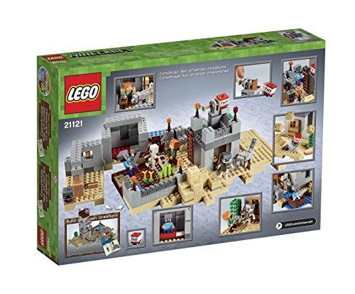 LEGO-Minecraft-21121-the-Desert-Outpost-Building-Kit