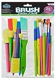 Royal & Langnickel RART-18 - 25-teiliges preisgünstiges Pinselset, Craft Brush Value Pack von Royal & Langnickel
