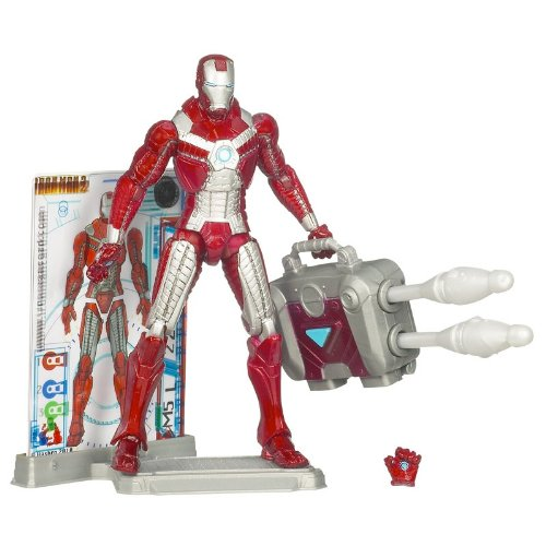 Marvel Iron Man 2 Movie Figure Iron Man Mark V #11 - 1