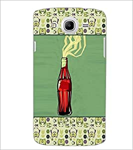 PrintDhaba Bottle D-4669 Back Case Cover for SAMSUNG GALAXY MEGA 5.8 (Multi-Coloured)