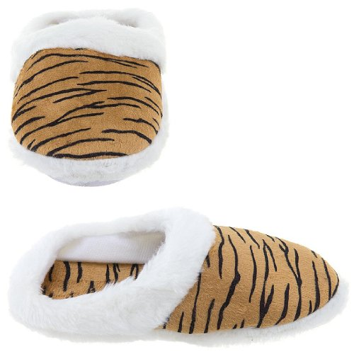 Cheap Tiger Stripe Slippers for Women (B009TH39F8)