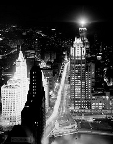 usa-illinois-chicago-night-view-from-prudential-building-poster-drucken-6096-x-9144-cm