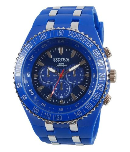 Exotica Analog Blue Dial Men\