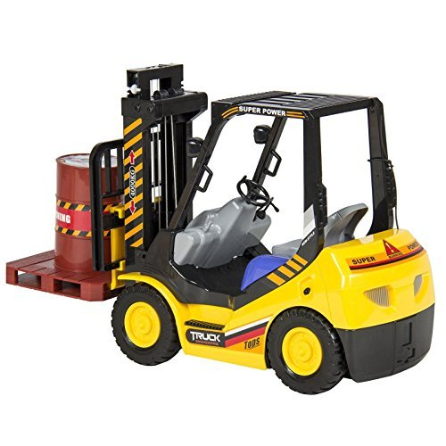 NEW RC Remote Control Forklift With Lights, 6 Channel Electric Kids Toy RC (Play Toaster Oven compare prices)