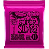 Ernie Ball Super Slinky Nickel Wound Set, .009 - .042