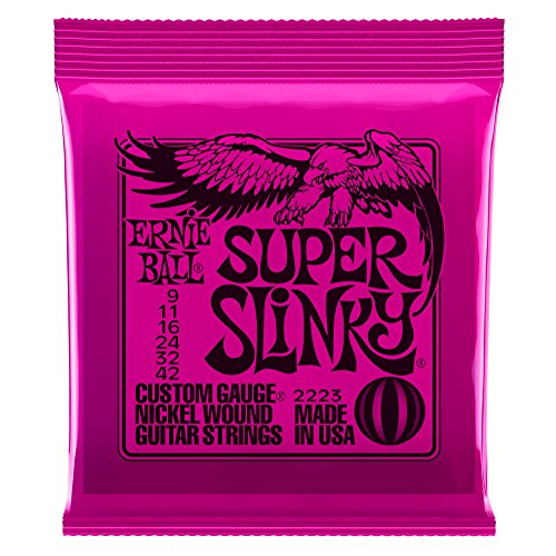 [Domestic regular imports] ERNIE BALL Ernie Ball guitar string 2223 Super Slinky Super Slinky