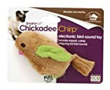 SmartyKat Chickadee Chirp Cat Toy with Bird Sounds
