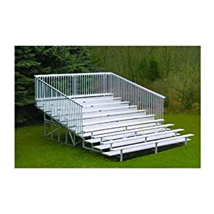 Jaypro Sports Blch-1027gr 10 Row 27 Ft With Guard Rail from Jaypro