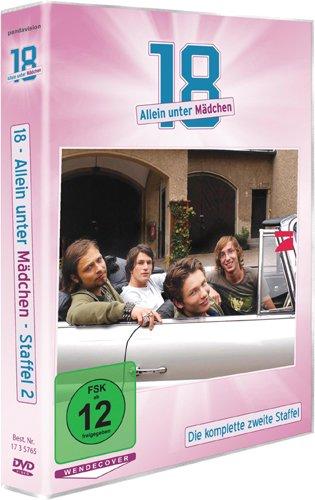18 - Allein unter Mädchen - Die komplette zweiteStaffel (2 DVDs)
