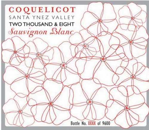 2008 Coquelicot Estate Sauvignon Blanc 750 Ml