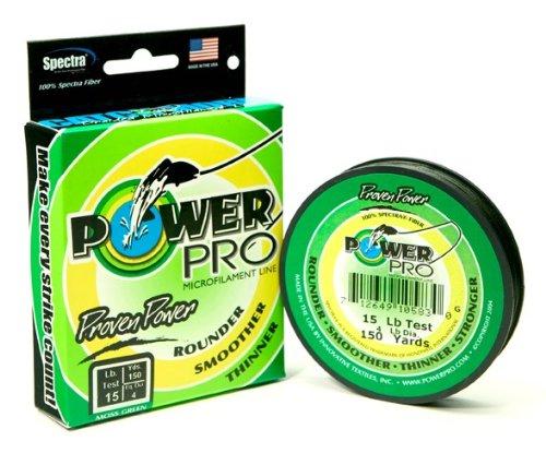 Power Pro 20 -Pounds - 150 yard (Moss green)