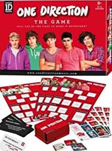 One Direction The Game Board Game Puzzle from Linen Ideas