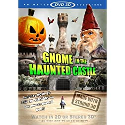 Gnome In The Haunted Castle - 2D and Stereo 3D Versions