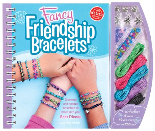 Fancy Friendship Bracelets (Klutz) [Spiral-bound]