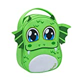 Smash Polyester Boggle Monster Lunch Bag, Set of 1, Green