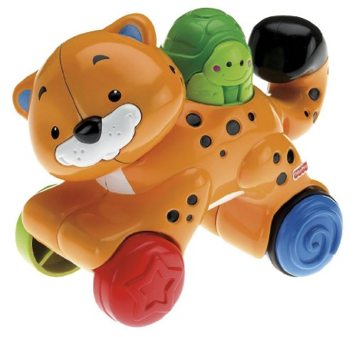Fisher-Price Amazing Animals Press & Go Cheetah - 1