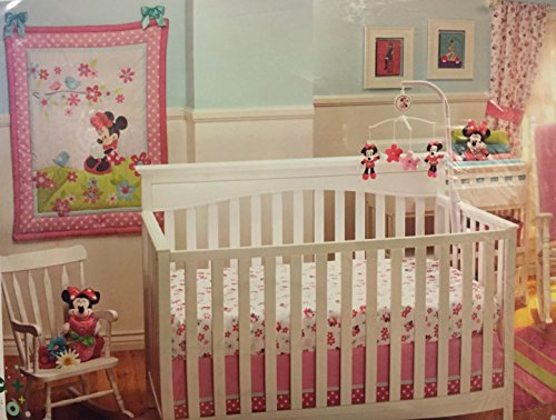 Disney Baby Bedding Sweet Minnie Mouse 3-Piece Crib Bedding Set - 1