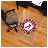 ES Robbins Collegiate Chair Mat for Hard Floors, 48 x 36, Alabama Crimson Tide at Amazon.com