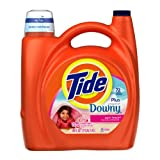 Tide With Touch Of Downy April Fresh Scent Liquid Laundry Detergent 150 Fl Oz (Pack of 2)