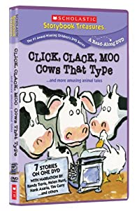 Click Clack Moo - Cows That Type... and More Amusing Animal Tales (Scholastic Storybook Treasures)