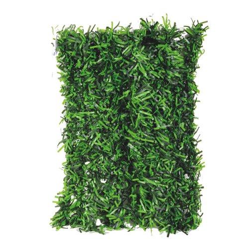Siepe sintetica giardino copertura con finte foglie 1x3 mt for Siepe finta amazon