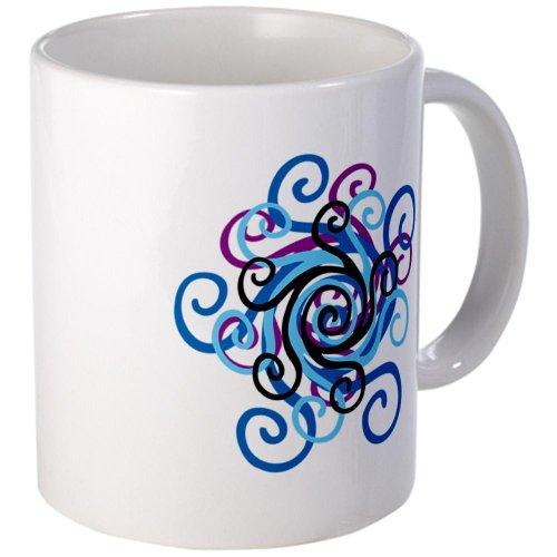 Cafepress Spring Flower Pattern Mug - Standard