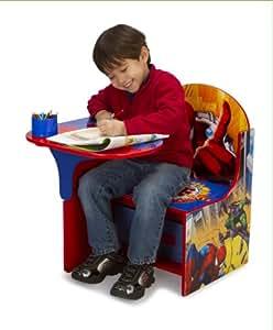 Amazon Com Delta Enterprise Spiderman Chair Desk With