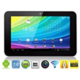 """**LAUNCH PRICE**Techgarage X15 7"""" inch Dual CORE (Max 1.5GHZ RK3066 ARM Cortex A9 Processor, Mali400 Quad Core GPU) Latest ANDROID 4.1 (Jelly Bean Operating System) 8GB HDD Storage 1GB DDR3 RAM - IPS Capacitive Touch Screen (16:9 Screen Resolution) with HDMI WiFi Flash 11.1 Slim ePad Tablet Netbook PC - Compatible with BBC iPLayer/ Amazon Kindle/ 3D Games/ Youtube/ Skypeby TechGarage"""
