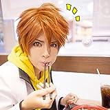 Anime-Orange-Haikyuu-Hinata-Syouyou-cosplay-Percke-Halloween-Manga-30cm-Cap