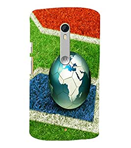 printtech Football World Brazil Back Case Cover for Motorola Moto X Style